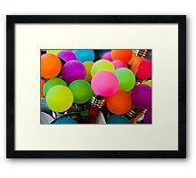 Bright Ideas!! Framed Print