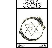 Ace of Coins by Peter Simpson