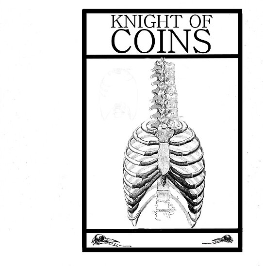 Knight of Coins by Peter Simpson