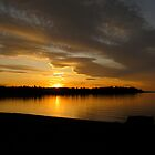 Sunset In Parksville by Bambi-Claire