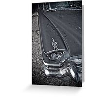 Dressed For Death Greeting Card