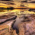 Reaching Rocks Wide by Bob Larson