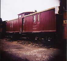Guards Van by Greg Carrick