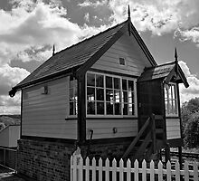 Cheddleton Signalbox by Aggpup