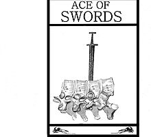 Ace of Swords by Peter Simpson