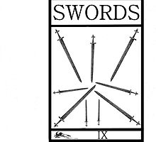 9 of Swords by Peter Simpson