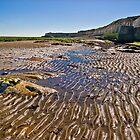 Ripples on the beach by Geoff Carpenter