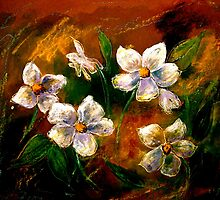 Drawing Day...Little Flowers by © Janis Zroback