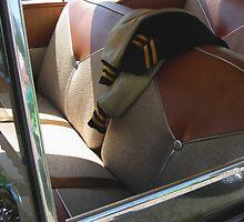 Inside 50's Car by Renee D. Miranda