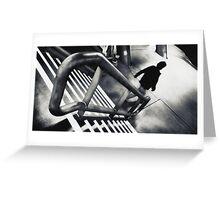 ZEBRA   leaving Greeting Card