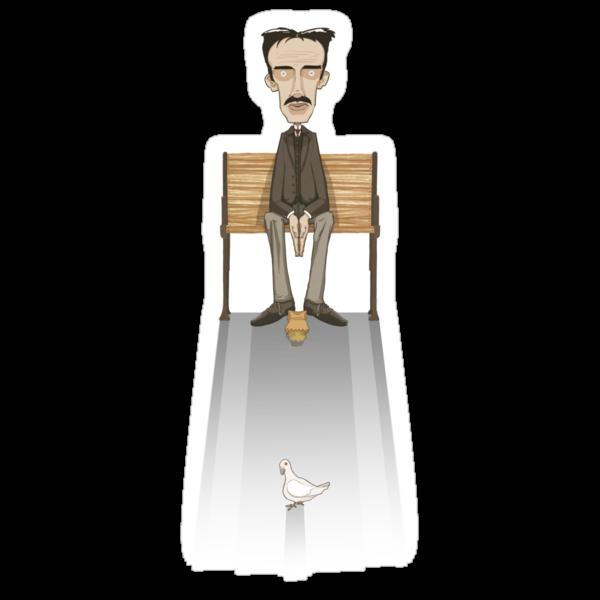 Nikola Tesla, Inventor of Love by Michael Rapa