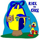 "Rick the chick ""HOME, SWEET HOME"" by CLAUDIO COSTA"