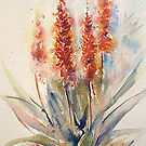 Winter Prelude (Watercolours from Africa 2010 calender) by Debbie Schiff