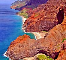 Na Pali Coast by Clyde  Smith