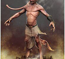 Real Majin Buu by Michael-Eads
