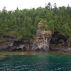 Along the Shore, Five Fathom National Park - Ontario by Stephen Stephen