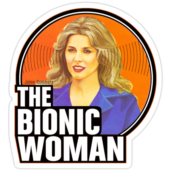 Bionic Woman by superiorgraphix