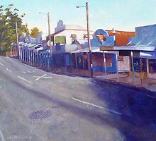 Early Light - Cambridge Parade Manly by Cary McAulay