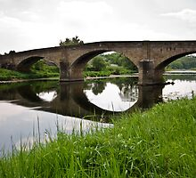 Bridge over the River Ribble by inkedsandra