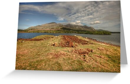 Beautiful Lough Inagh Valley by John Quinn