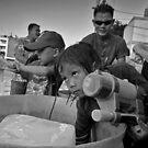 Songkran in Bangkok (1) by Laurent Hunziker