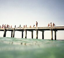 pier by Barbara Fischer