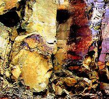 Stone Samurai - Rock Wall, SE Oregon, Miocene Period by Ascender Photography
