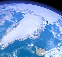 Greenland from Space by Intrepix