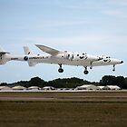 White Knight 2 landing at Oshkosh by bleriger