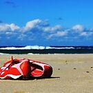 Beach Training by Hege Nolan