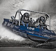 """Dirty Deeds"" - V8 Jetboat by John Quixley"