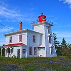 Blockhouse Point Lighthouse, PEI by Stephen Stephen