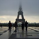 Eiffel Tower by Natassja