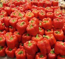 Bell Peppers by Gary Kelly