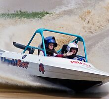 """Liquid Rush"" - V8 Jetboat by John Quixley"