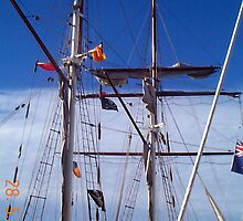 tall ships Gold Coast QLD by Scothelen