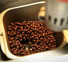 DIY Coffee Roasting Station by brokenvase