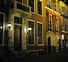 The Hague at night by Hans Bax