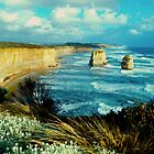 two rocks #2,Great Ocean Road,Victoria,Australia by Max R Daely