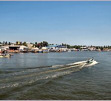 THE LAGOON IN NEGOMBO. by ronsaunders47