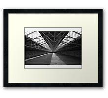 Top Floor of Salts Mill Framed Print