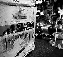 Mailbox - Tijuana, Mexico - 2009 by Arturo Rubio