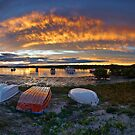 Myall River Sunset by thorpey