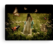 In the Clover Canvas Print