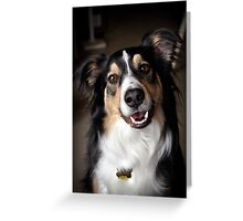 Rascal Portrait Greeting Card