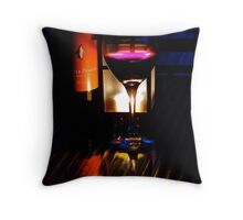 Discussing Life Throw Pillow