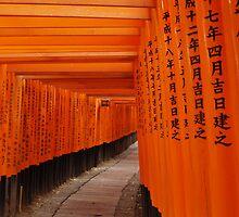 Fushimi-Inari Shrine, Kyoto by Melissa Pearson
