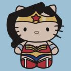 Wonder Woman Kitty by NiamhFox