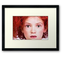 That Stare! Framed Print