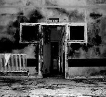 Fire Exit ~ Harperbury by Josephine Pugh